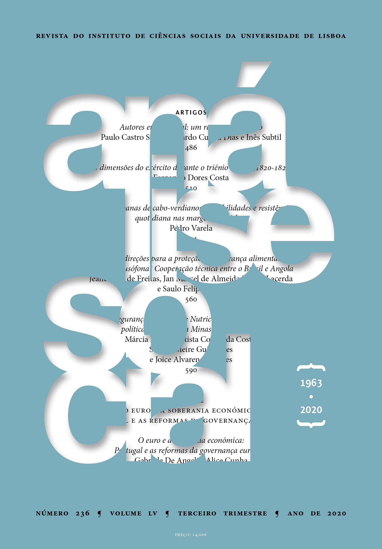 Análise Social #236 - Imprensa de Ciências Sociais